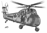 UH-34 Dog; by Mike Leahy